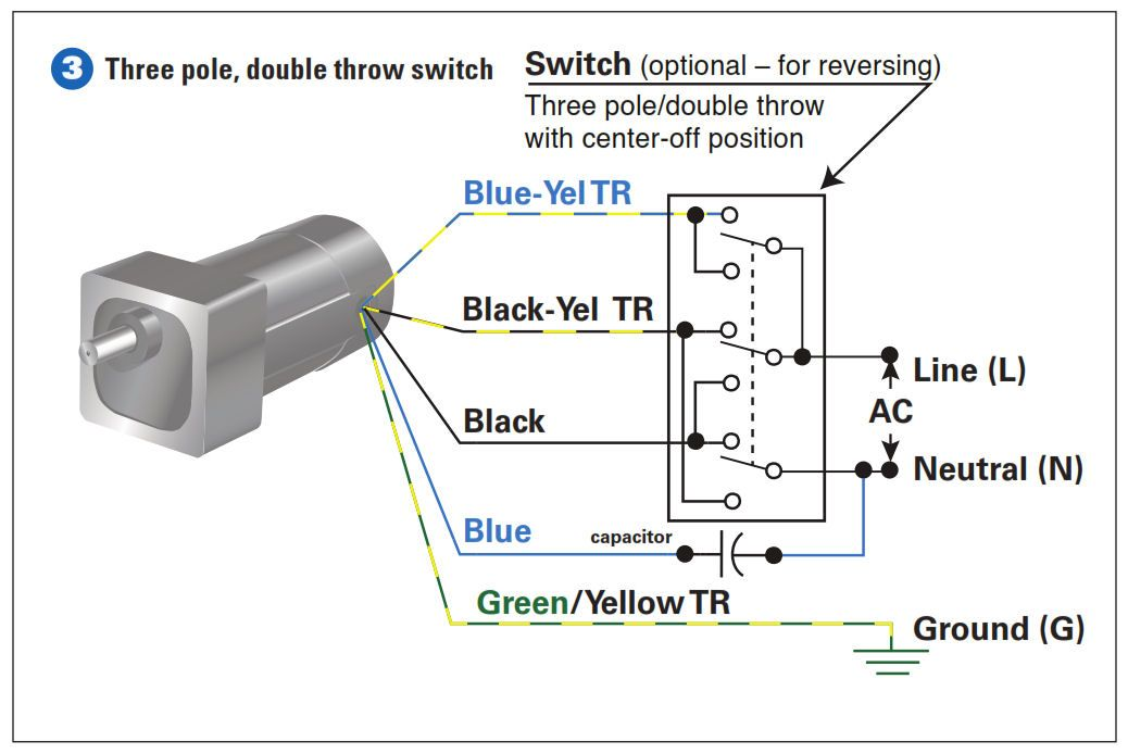 Wiring Diagram Double Pole Throw Switch