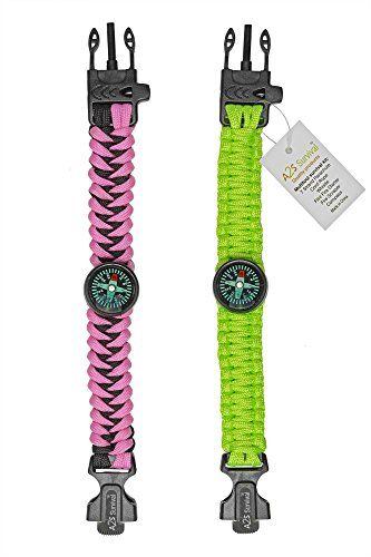 a2s survival gear kit paracord bracelet for girls colorful