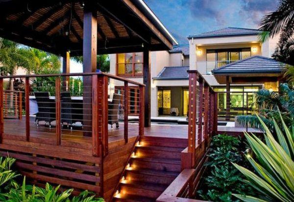 Moderne Gartengestaltung \u2013 100 erstaunliche Gartenideen - gartengestaltung mit holz