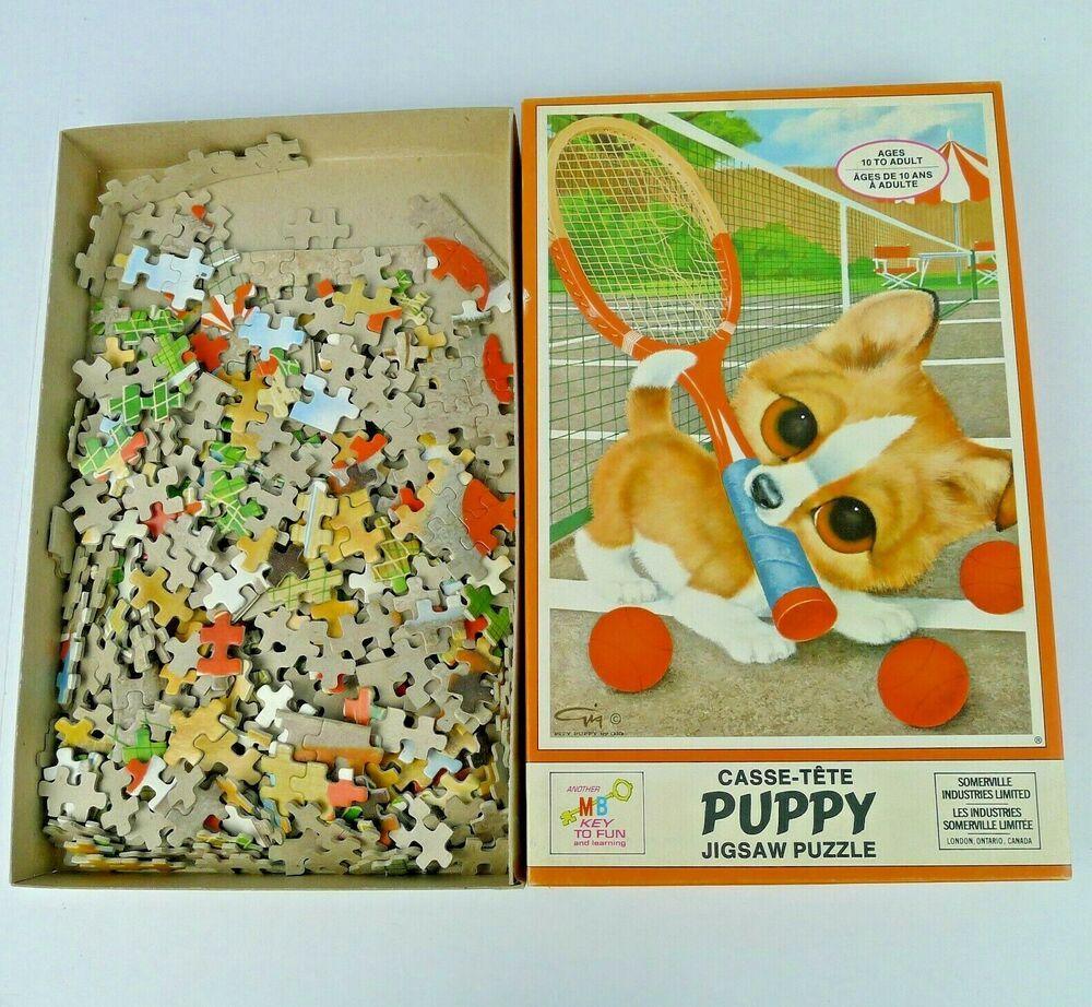 Details About Vintage Gig Jigsaw Puzzle Porkchop Milton Bradley