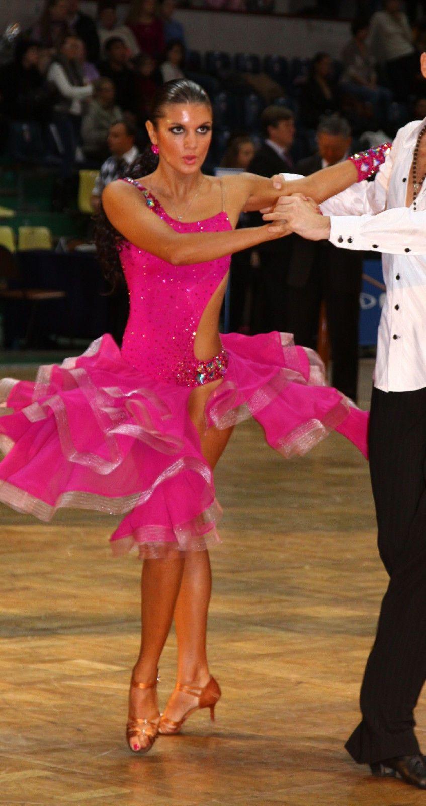 Beautiful latin salsa ballroom competition dress ebay - Musique danse de salon gratuite ...