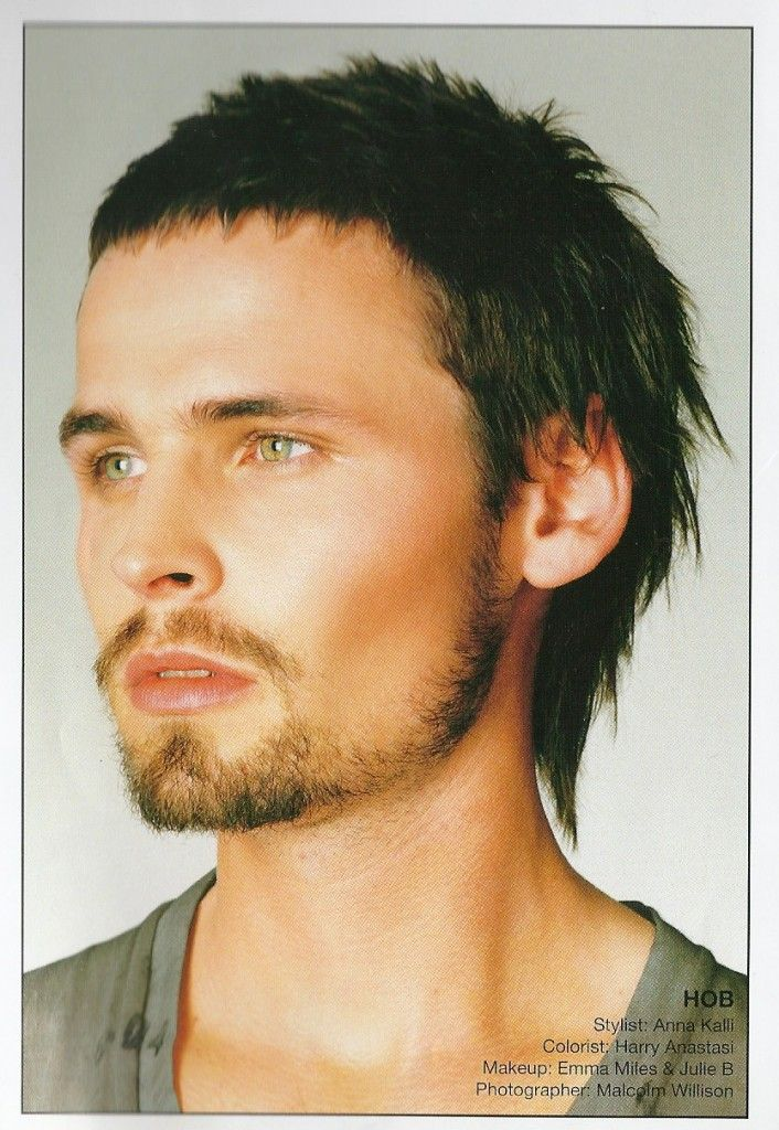Young Mens Short Funky Mullet Haircut Hairstyles New Styles