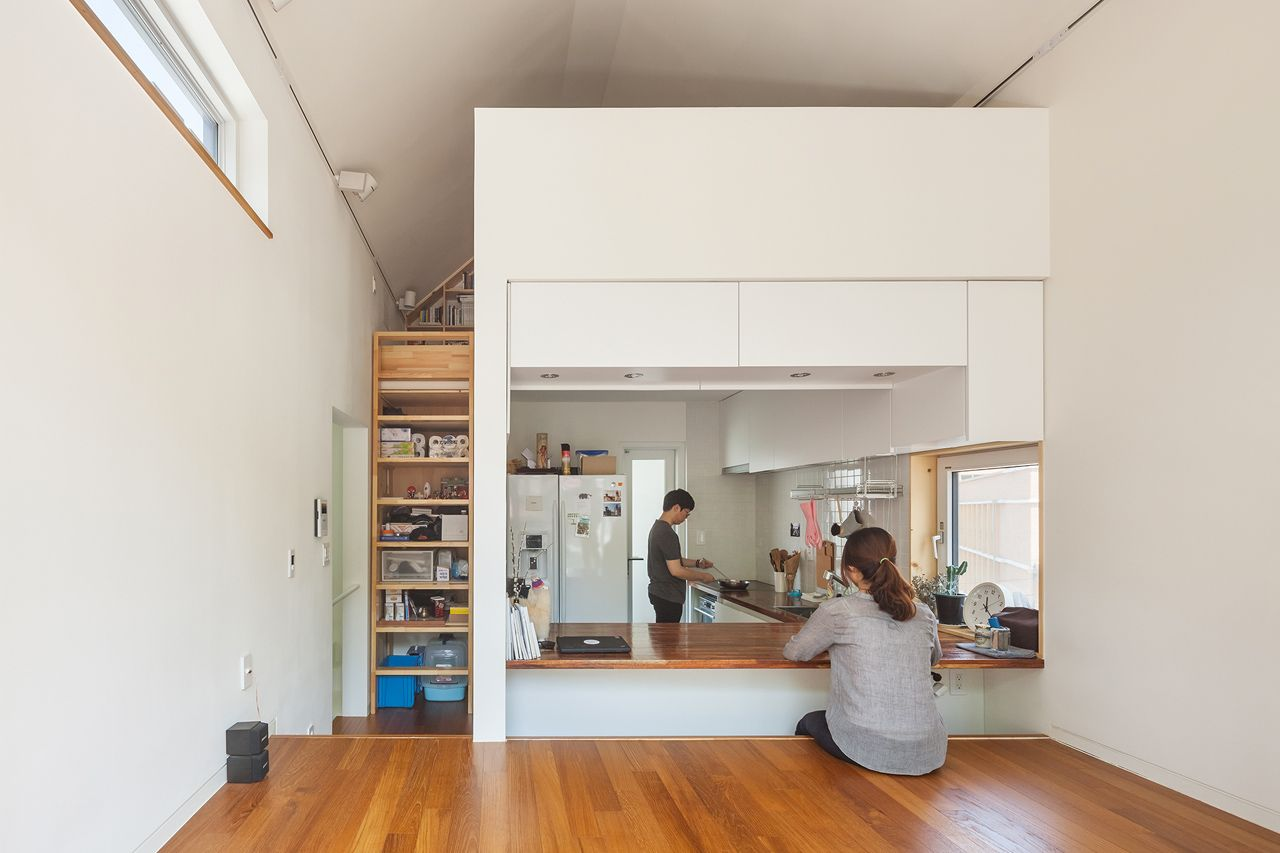 Obba 50 sqm house seoul korea like the efficiency of space would need another 120 sq ft for an office perhaps an outside structure