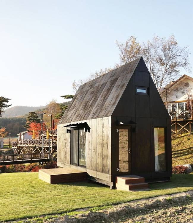 Ultra Minimalist Tiny House Prototype Built For Preserving A Slow