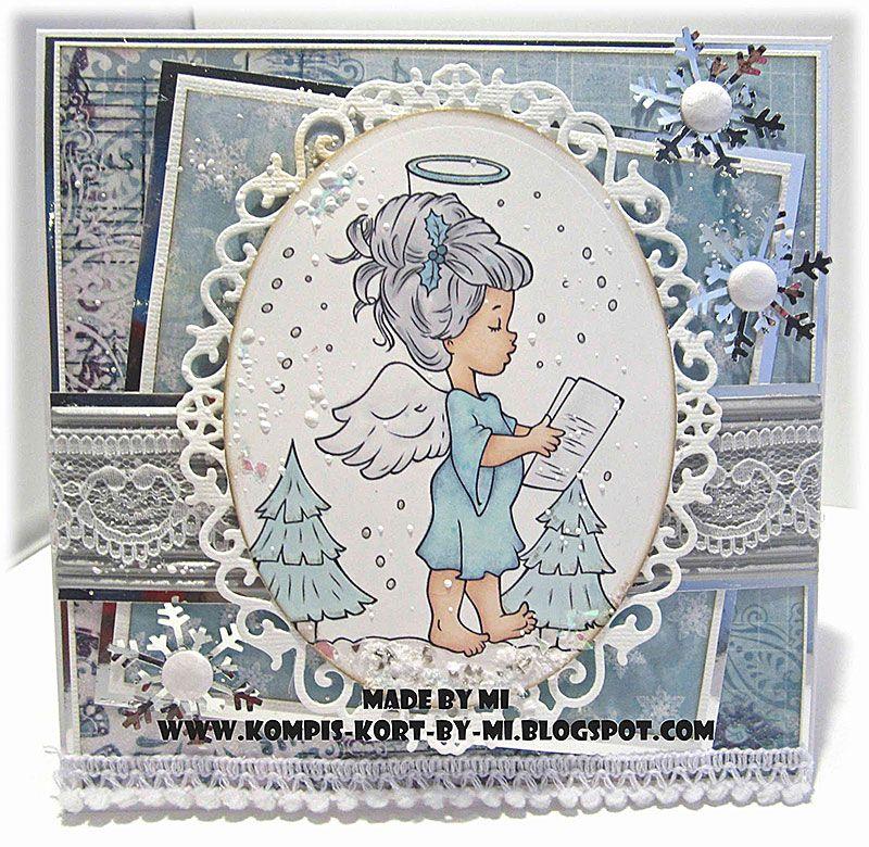 heavenly christmas carol  digital stamp  digital stamps