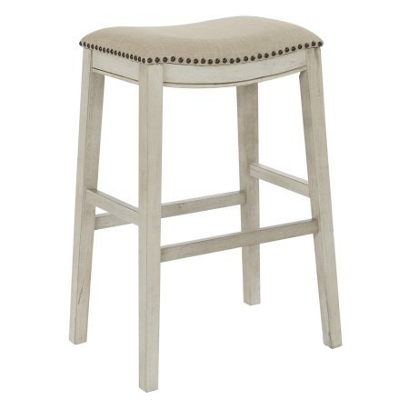 Remarkable Osp Designs Saddle Stool 30 Inch 2Pk Beige Products Unemploymentrelief Wooden Chair Designs For Living Room Unemploymentrelieforg