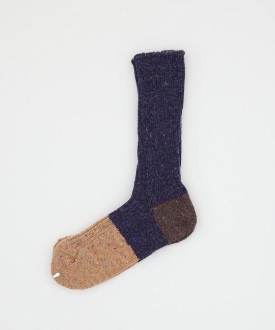 THE SUPERIOR LABOR 3 COLOUR SOX- NAVY