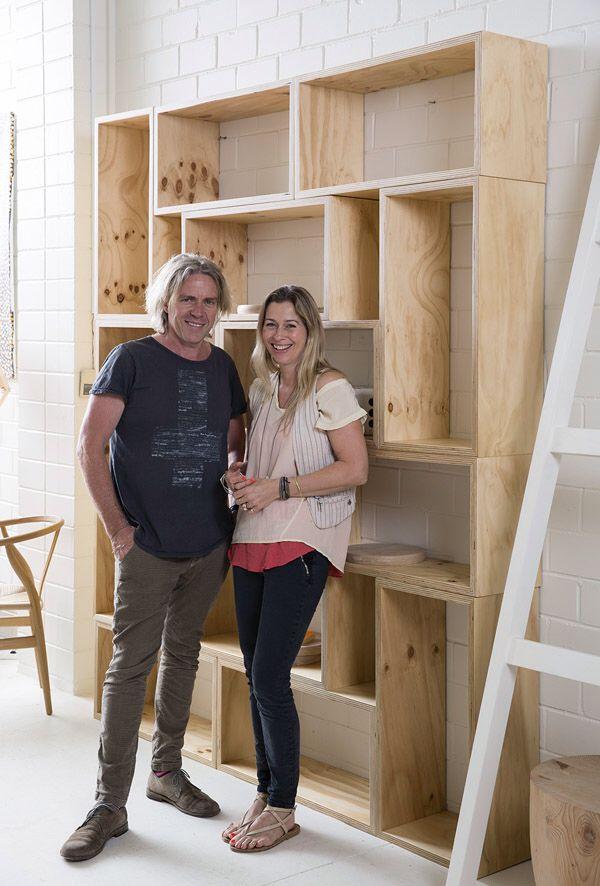 Plywood Shelves From Design Files Online Agencement Bibliotheque Mobilier De Salon Bibliotheque Murale Design