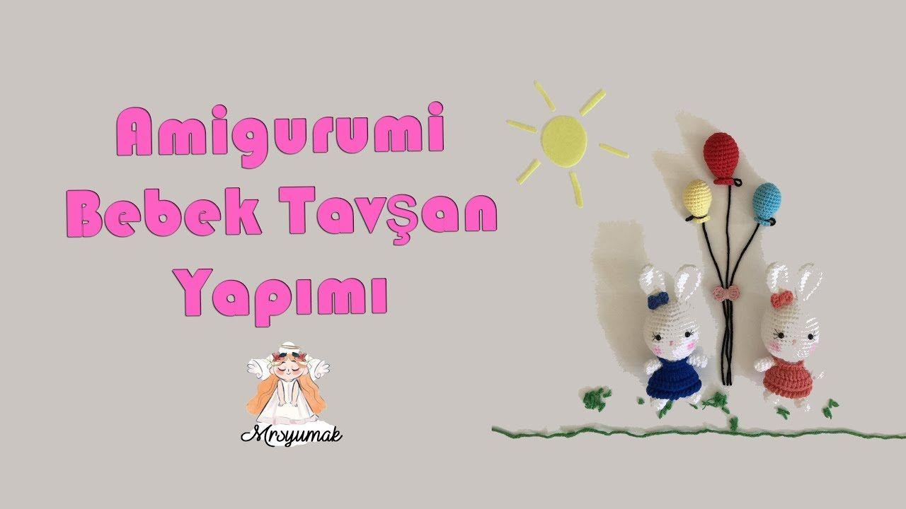 Amigurumi Anahtarlık Tarifi : Bu videoda amigurumi bebek tavşan tarifini ve nasıl örüldüğünü