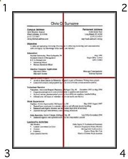 Owl Purdue Cover Letter Basic Elements Of Resume Design Purdue Owlimage Shows A Sample