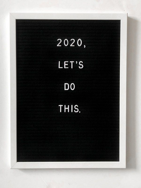 12 New Year LetterBoard Quote Ideas for 2020   Such A Sweetheart