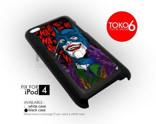 AJ 3873 Joker With Batman Mask - iPod 4 Case | toko6 - Accessories on ArtFire