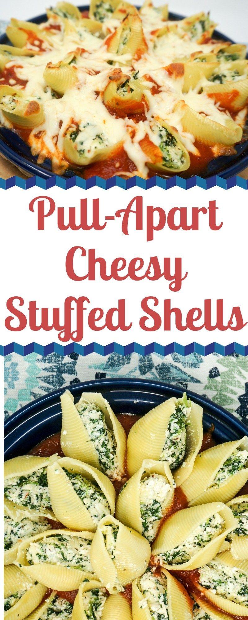 Photo of Pull-Apart Cheesy Stuffed Shells