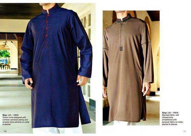 Menswear Kurta dresses 2014 For Eid By Junaid Jamshed (17