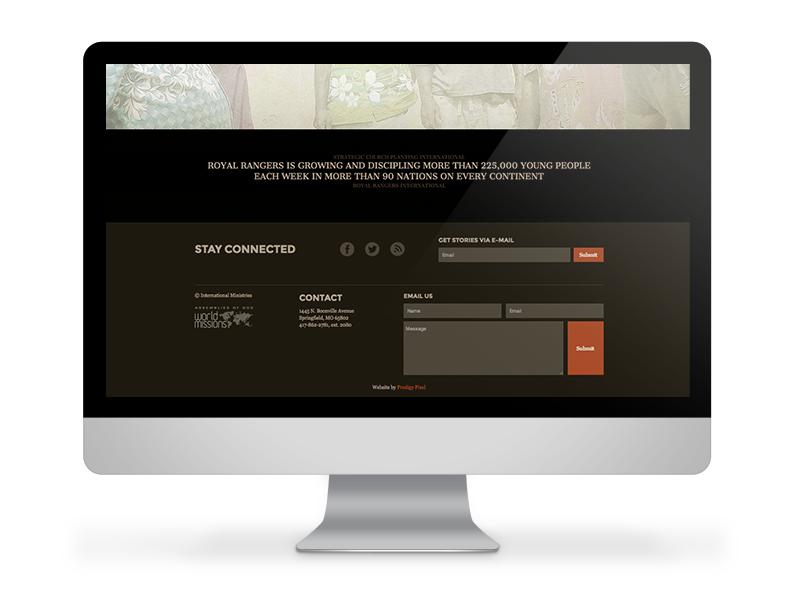 International Ministries Prodigy Pixel Website Design Springfield Missouri Digital Marketing