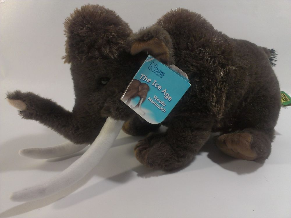 Wild Republic Woolly Mammoth Plush Stuffed Animal Elephant