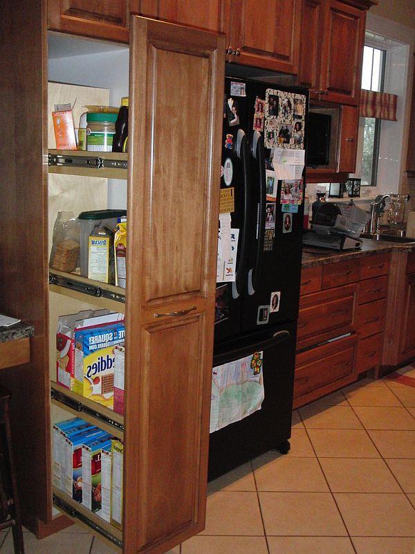 Kitchen Storage Ideas Organize Drawers  Pullout Pantries Storage