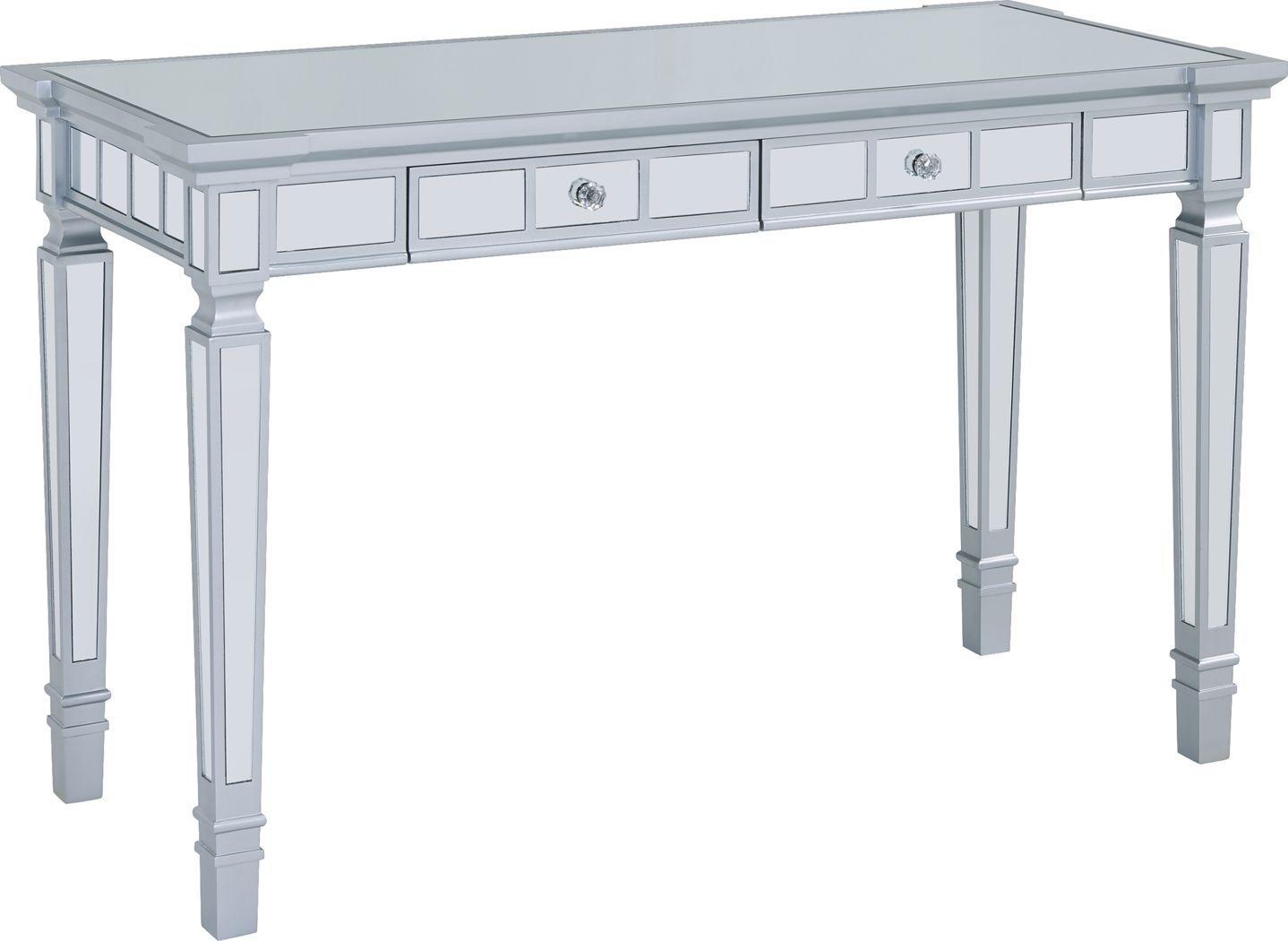 Gallimore Silver Desk Office Desk For Sale Home Office Desks Writing Desk