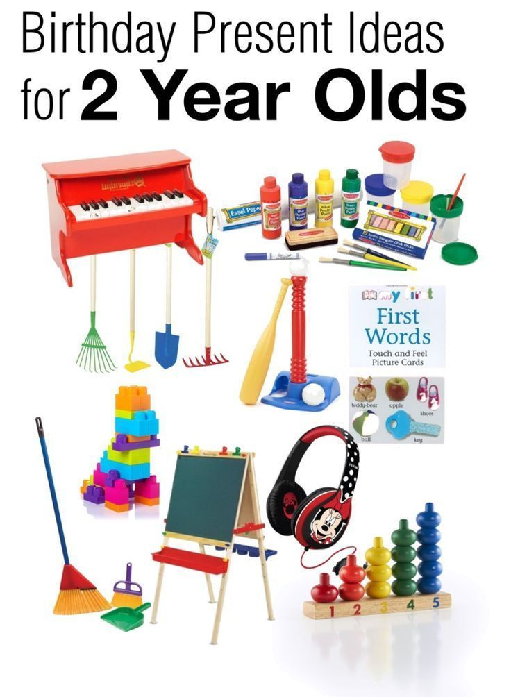 Birthday Present Ideas for Two Year Olds | Two year old ...
