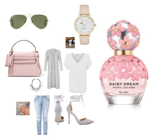 """Untitled #2789"" by fashionicon67 ❤ liked on Polyvore featuring New Look, WearAll, John Lewis, Witchery, Valentino, Kate Spade, Ray-Ban and Marc Jacobs"