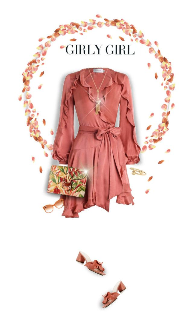 """""""Girly Girl"""" by empresslolah ❤ liked on Polyvore featuring Loeffler Randall, Millà, Zimmermann, Patricia Nash, Chloé, Dolce&Gabbana, J.W. Anderson and dreamydresses"""