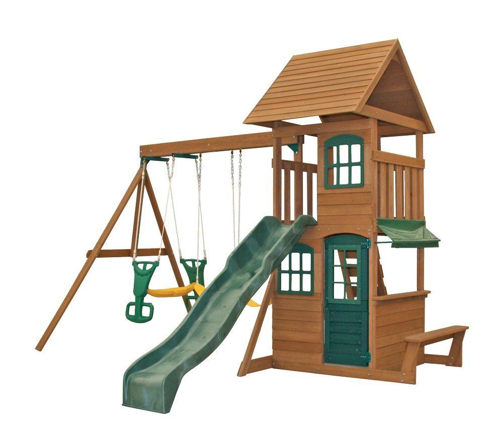 Amazon Com Big Backyard F23220 Windale Play Center Sports