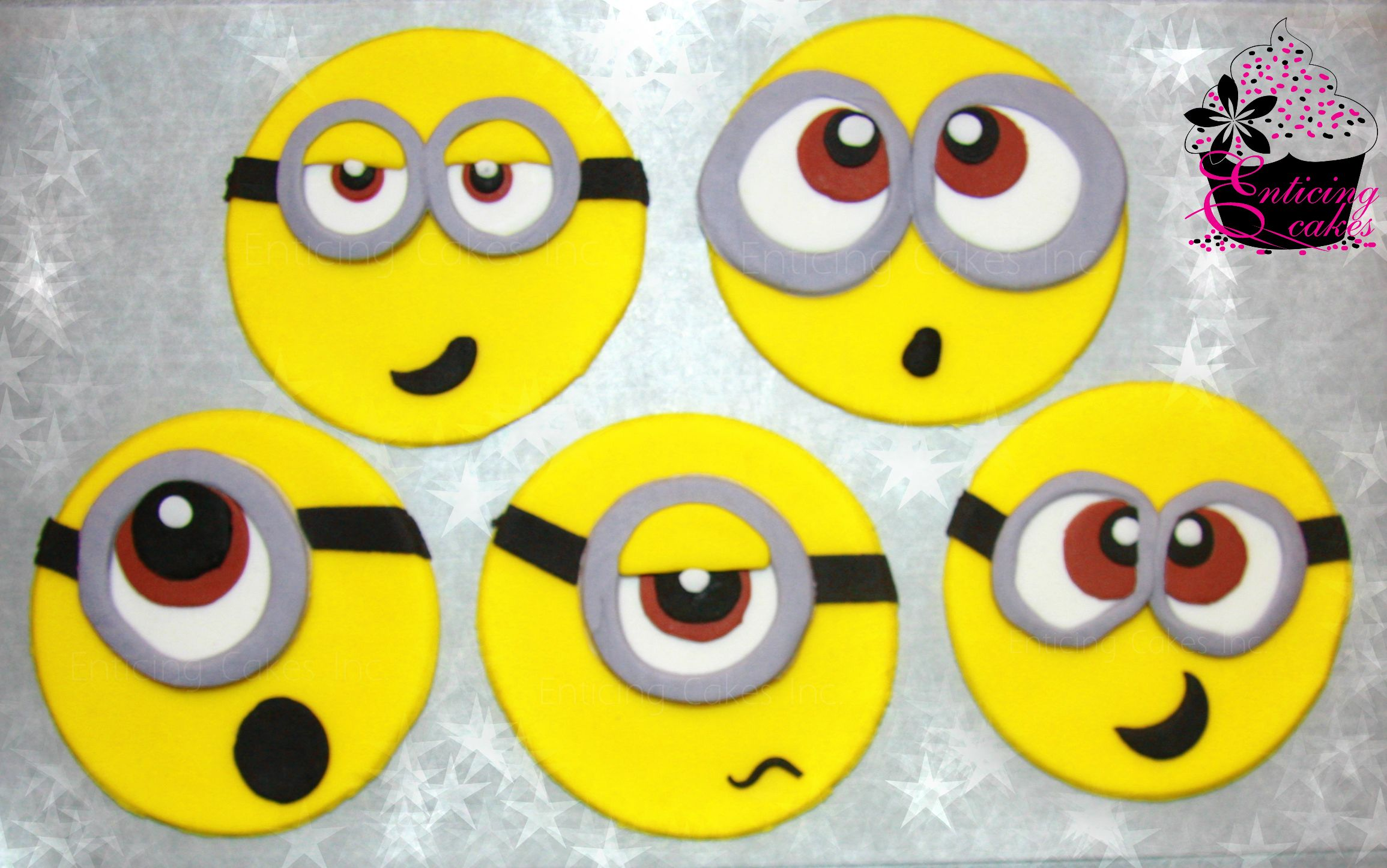 With the new Despicable Me movie out, I started thinking about re-sharing (on social media) some of my old Minion posts. When going through them, I realized I never posted a a tutorial for How to Make Minion Cupcake Toppers. That wouldn't be a big deal except I shot this tutorial back in Ya'll.