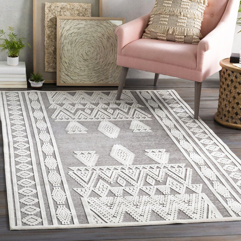 World Menagerie Tapis Taupe Ivoire D Inspiration Mondiale Cruz Wayfair Ca Moroccan Area Rug Area Rugs Silver Grey Rug