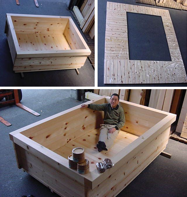 my size soaking tub for the home pinterest outdoor badewanne badewannen und garten ideen. Black Bedroom Furniture Sets. Home Design Ideas