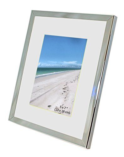 Iron Nickel Plated Shiny Dark Silver Color Photo Frame With Removable Mount Takes A Photo O Picture Frames For Sale Picture Frames Online Picture Frame Sizes