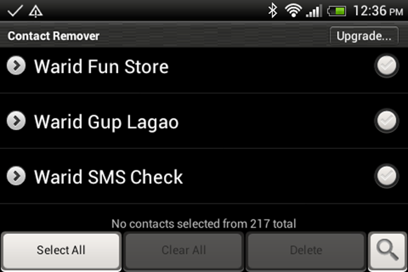 How To Delete Multiple Contacts On Android Android
