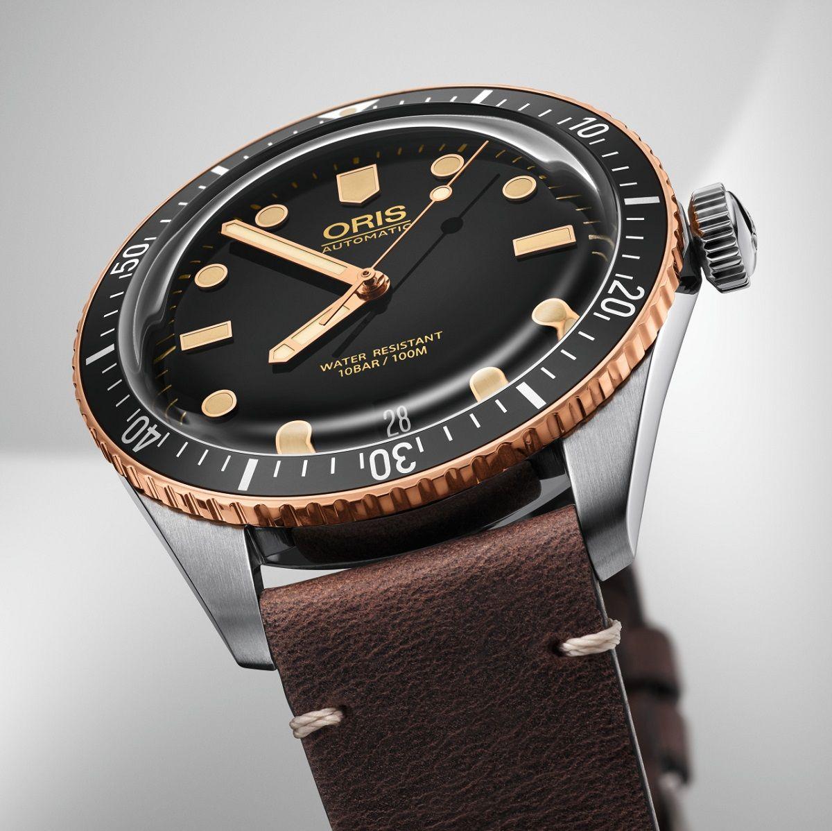 Oris Divers Sixty-Five Bronze Watch #baselworld2018 #baselworldabtw ...