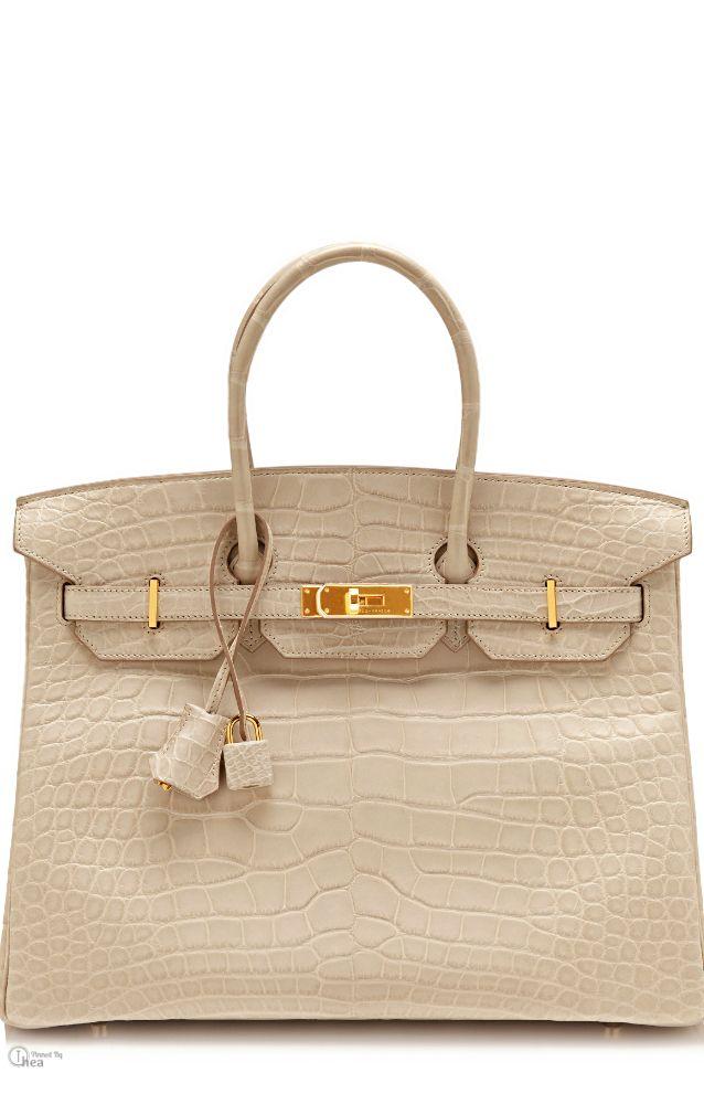 Hermes Birkin ○ 35Cm Matte Beton   Hermes Birkin Bags   Pinterest ... dcb032a6776