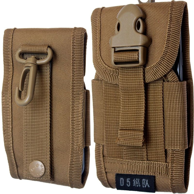Tactical Army Molle Bag Phone Belt Pouch Holster Cover Case Wallet Card Holder