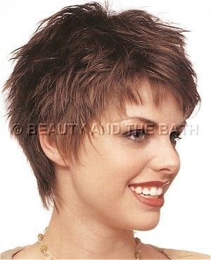Wondrous Side View Short Layered Hairstyle Thin Hair Like Pinterest Hairstyles For Men Maxibearus