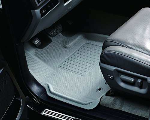 3d Maxpider Front Row Custom Fit All Weather Floor Mat For Select Hyundai Floor Mats Carbon Fiber Front Row