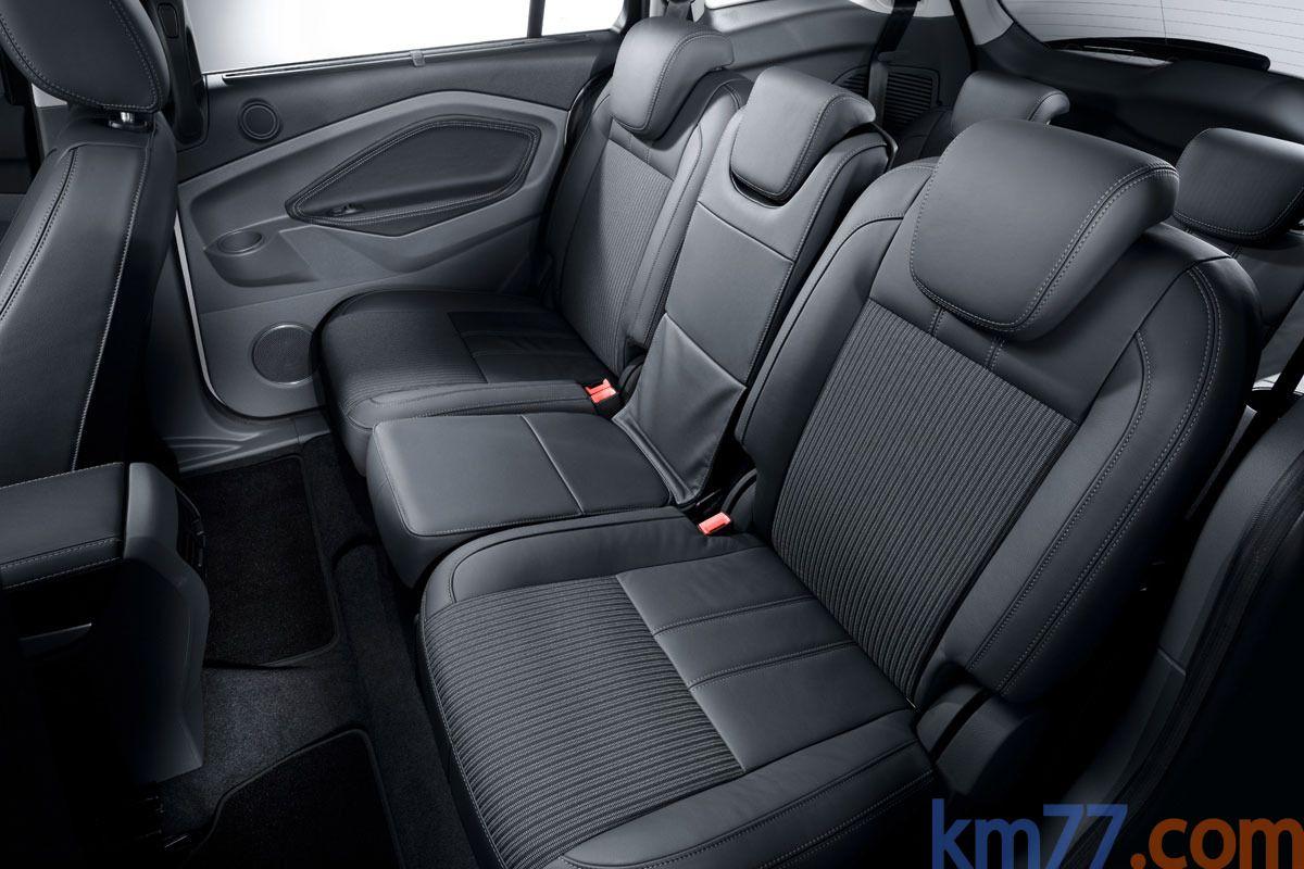Ford Grand C-MAX Gama Grand C-MAX Titanium Monovolumen Interior ...