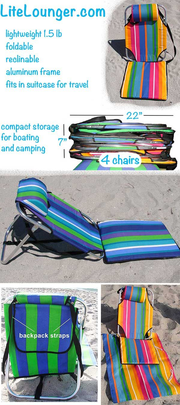 compact travel beach chairs dining room chair covers portable boating hiking and camping 1 5 lbs