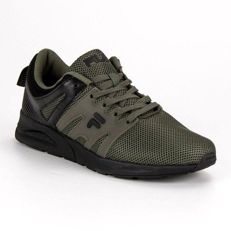 Sportowe Meskie Fila Zielone Fila Stark Low Shoes Sneakers Underarmor Sneaker