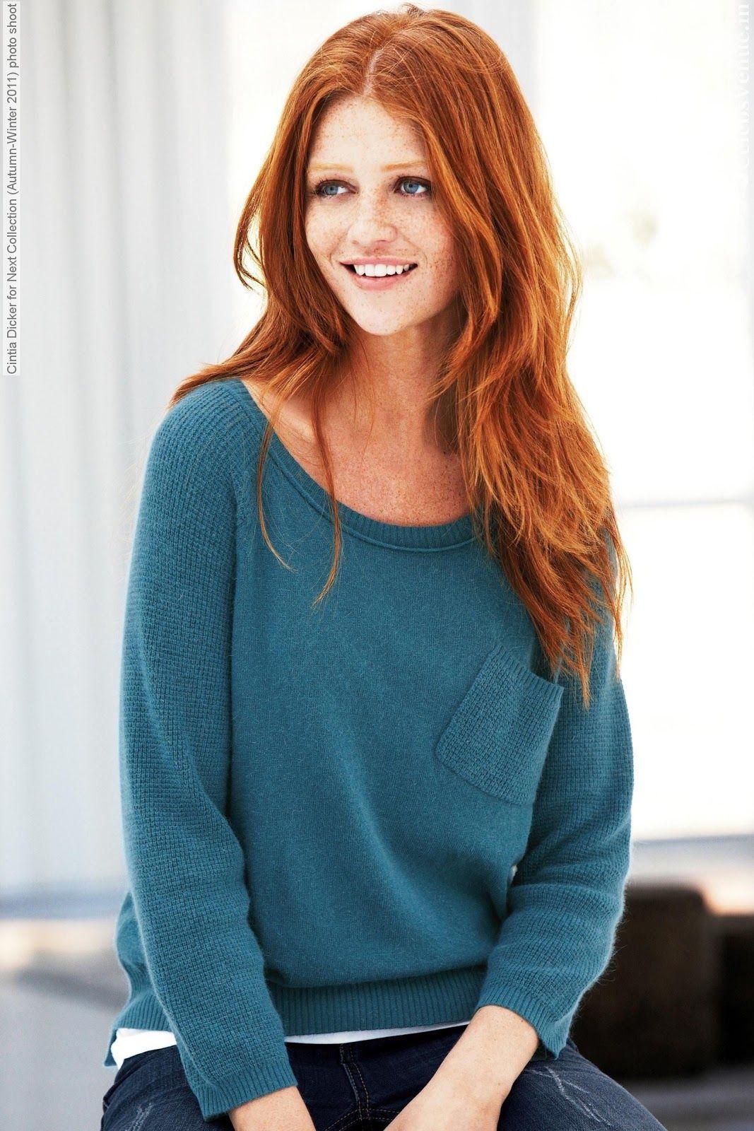 Cintia Dicker Gorgeous Redhead Cintia Dicker Red Hair Inspiration