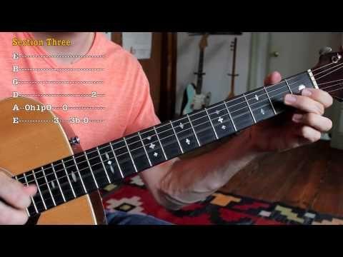 Acoustic Blues Guitar Lick Texas Blues Guitar Lesson Blues Guitar Lessons Guitar Lessons Guitar