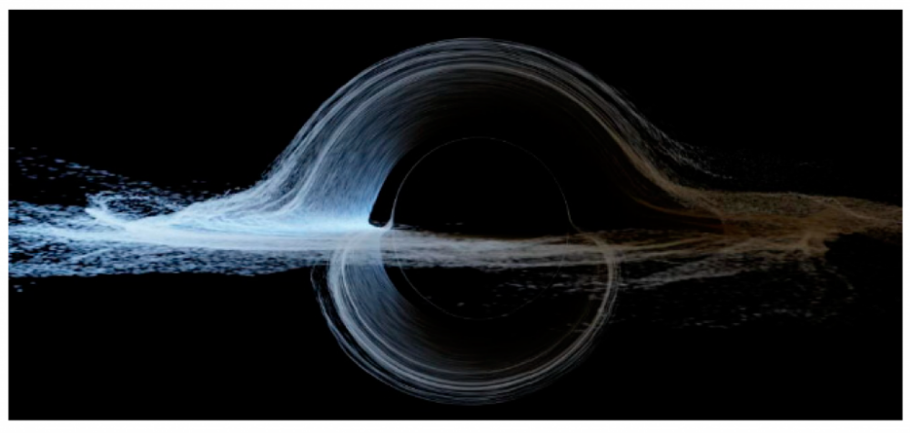 Life Might Survive on a Orbiting a Black Hole — If