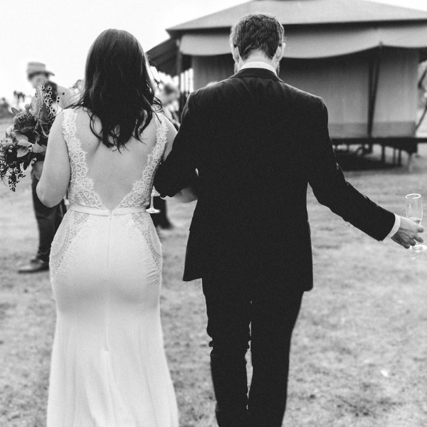 Stunning Black And White Wedding Photographs From The