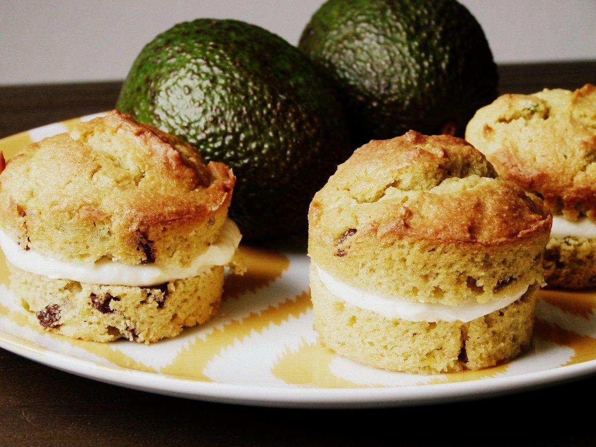 Avocado Cupcakes mit Cream Cheese Frosting | Rezept auf gemischtetueteglueck.de
