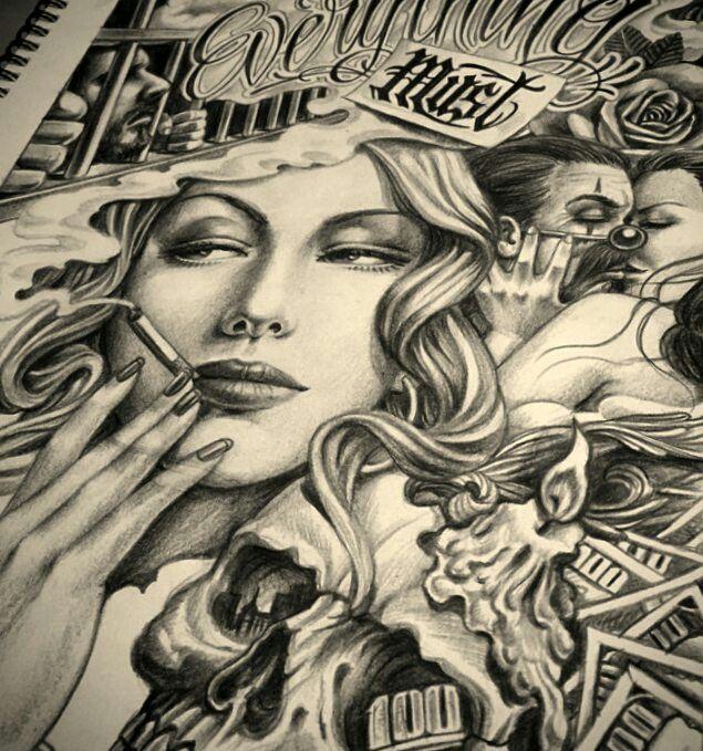 Pin by maxi sommerfeld... Lowrider Arte Joker