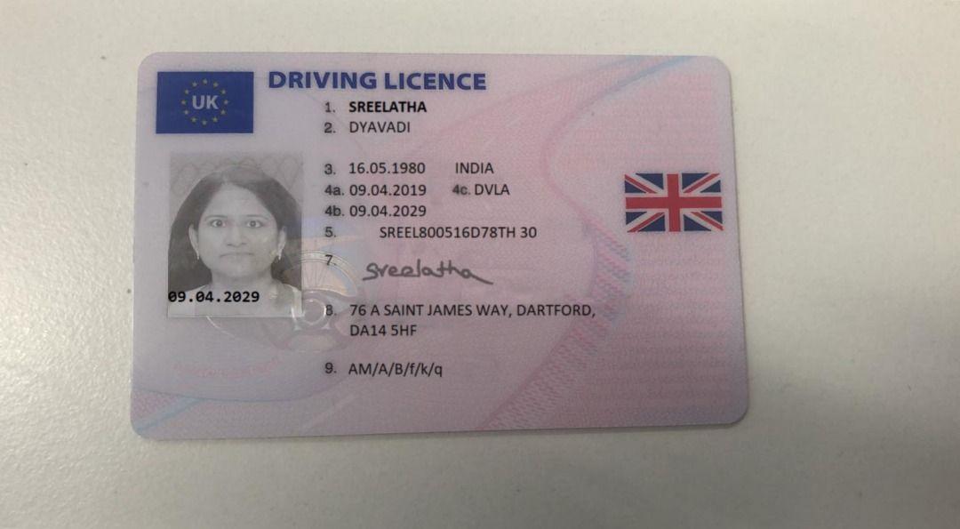 Genuine Driving Licence Driving License Driving Licensing