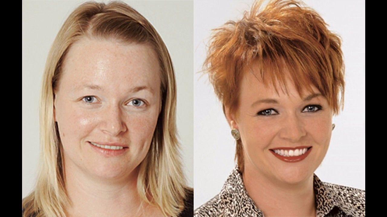 Vorher Nachher Frisuren Damen Vorher Nachher Frisuren Long Bob