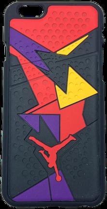 cc8541a59a66 Nike Jordan 7 VII Black Yellow Purple Red