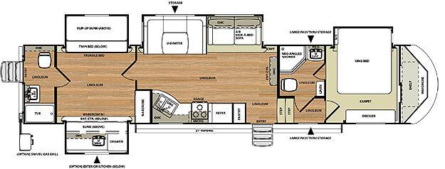 Hemisphere Fifth Wheel By Forest River Rv Floor Plans Travel Trailer Floor Plans Rv Living Full Time