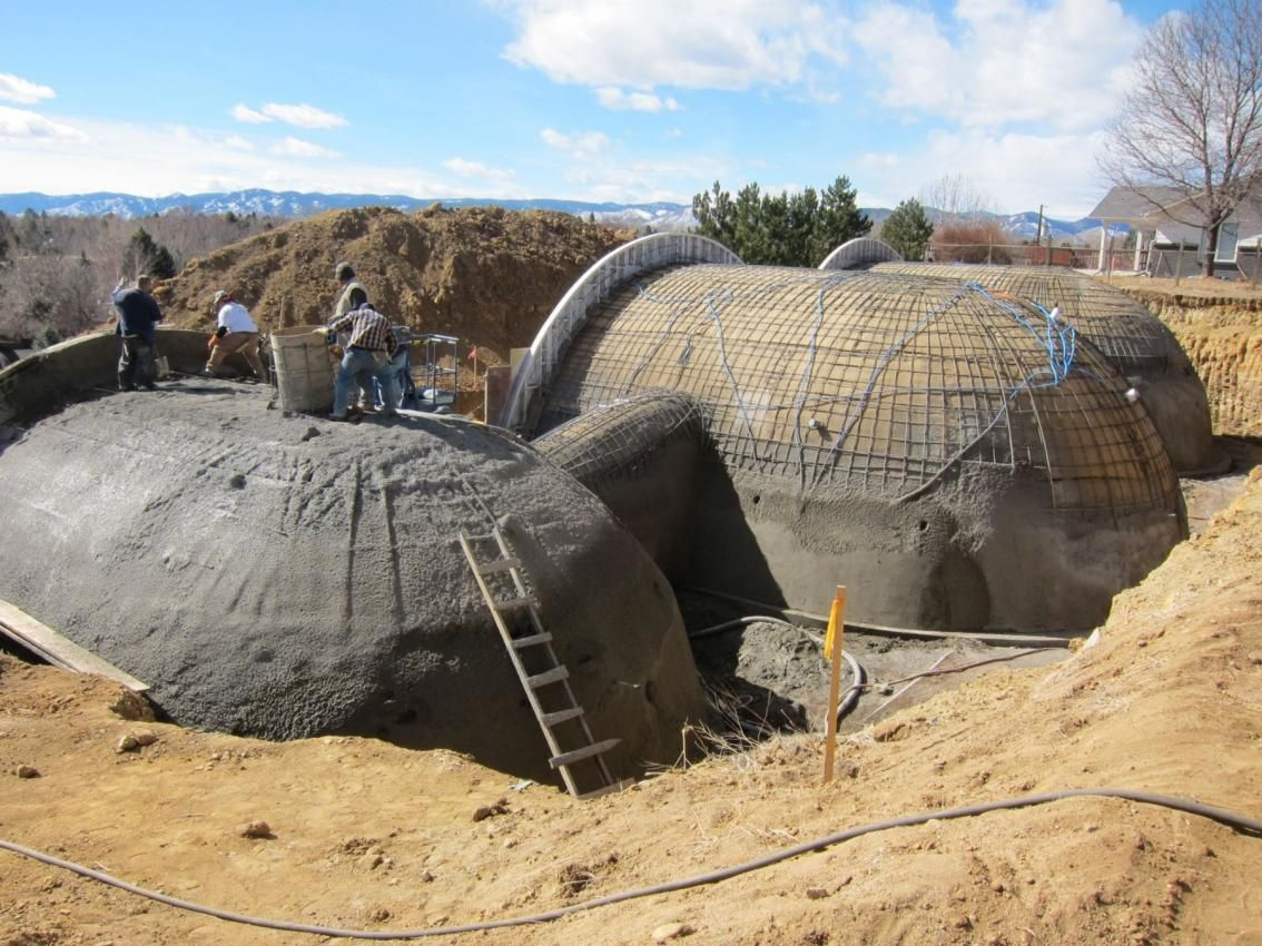 Building Underground Homes Monolithic Dome And Underground Homes Rising Sun Member Forums